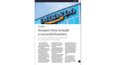 Amazon: How to build a successful business - The Business Briefing