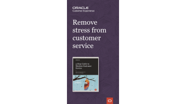 Three-step guide to modern customer experience - whitepaper from Oracle