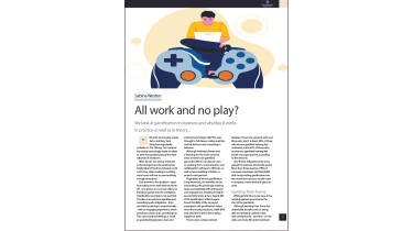 All work and no play? Gamification in business - The Business Briefing