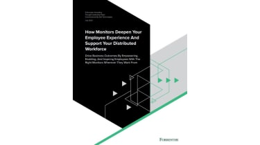 How monitors deepen your employee experience and support your distributed workforce - whitepaper from Dell