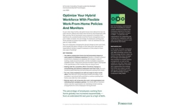 Optimise your hybrid workforce with flexible work-from-home policies and monitors - whitepaper from Dell