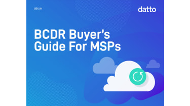 BCDR buyer's guide for MSPs - whitepaper from Datto