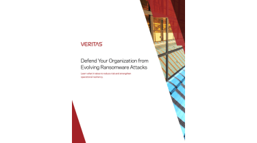 Defend your organisation from evolving ransomware attacks - whitepaper from Veritas