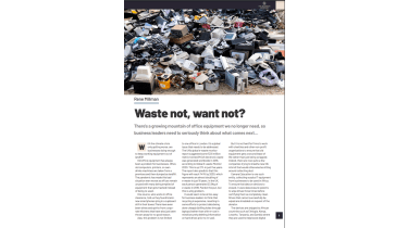 Trash heap full of office equipment - The Business Briefing from IT Pro