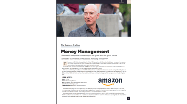 Jeff Bezos, CEO of Amazon - The Business Briefing