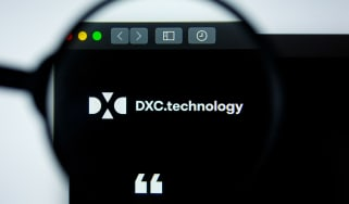 The DXC Technology website