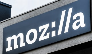 Mozilla company logo on a building