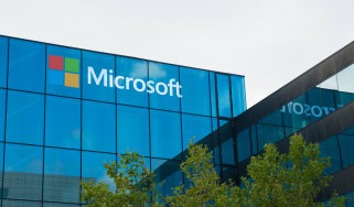 View of a microsoft building