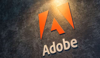 Adobe sign on a wall at its German offices