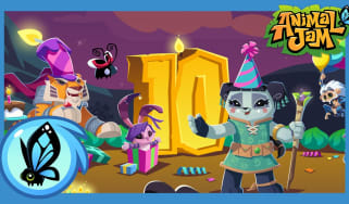 Tenth anniversary image of Animal Jam