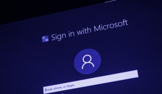 A sign in page for a Microsoft service