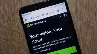 Azure on a mobile