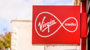 Virgin Media shop sign