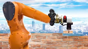 Bricklaying robot