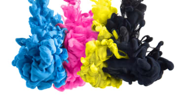 CMYK printer ink colours