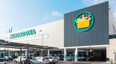 Mercadona supermarket, Girona, Spain