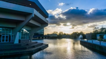 A shot of the University of York