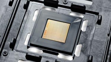 The IBM POWER10 chip. Image courtesy of IBM.
