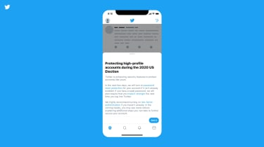 Twitter's new in-app notification to enhance security ahead of the presidential election