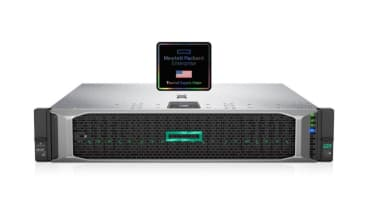HPE Trusted Supply Chain sticker on hardware