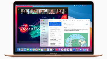 MacBook Air with multiple tabs open
