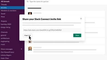 Slack's new external direct messaging service