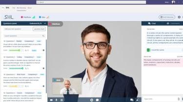 SHL Smart Interview interface