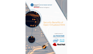 security benefits of open virtualised RAN - radio access network - whitepaper