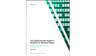 The benefits of Slack for technical teams - whitepaper