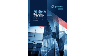 How AI can benefit your business - whitepaper from Genpact