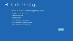 The Windows 10 safe mode user interface