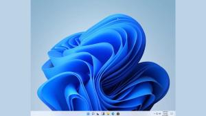 Leaked image of the Windows 11 desktop