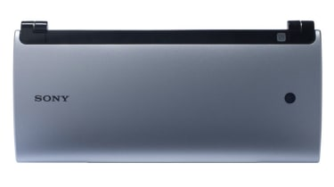 Sony Tablet P viewed from the top