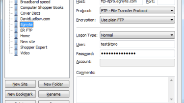 Shared folders stored on Egnyte can also be accessed via FTP.