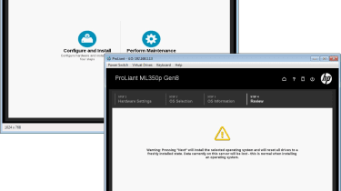 HP ML530p - Intelligent Provisioning