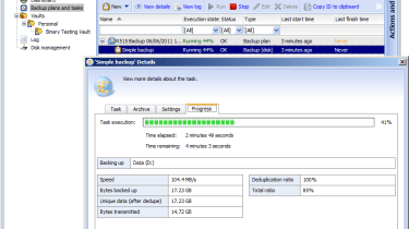 Thecus includes Acronis' Backup and Recovery 10 for Windows Servers with a five server license as standard.
