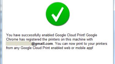 Enabling Google Cloud Print step 3