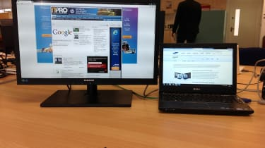 Samsung 24in 24A650X - multiple monitors