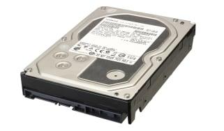A hard disk
