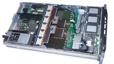 The interior of the Dell PowerEdge R715