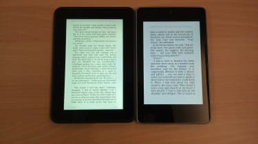 Kindle Fire HD vs Google Nexus 7 - Displays