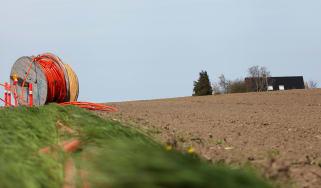 Laying rural fibre