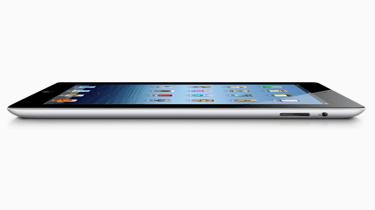 Apple new iPad - thickness
