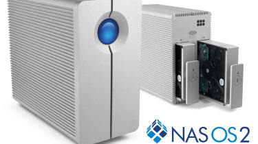 LaCie 2big Nas 6TB - Front and back