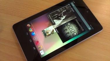 Google Nexus 7 - Home screen