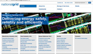 National Grid home page
