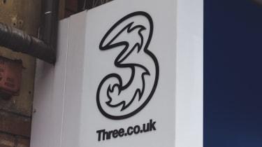 Three shop sign