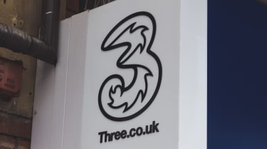 Three shop sign