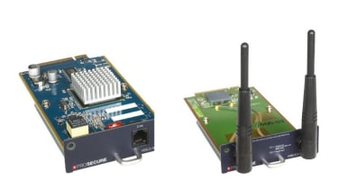 The UTM9S can be upgraded using the optional wireless and VDSL/ADSL2+ modules.