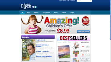 Reader's Digest home page